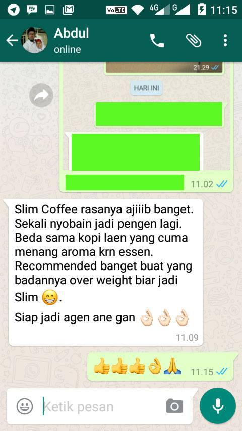 testimoni slim coffee